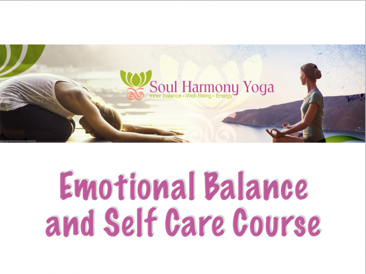 Emotional Balance and Self Care online yoga course