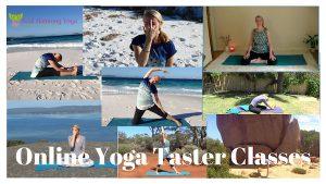 Free Online Yoga taster Classes