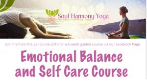 Emotional Balance and self Care Yoga course